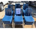 Lot: 24.CPD - (26) Plastic Student Chairs
