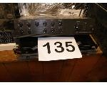 Lot: 135-136 - EQUALIZER, SWITCHER, AMPS