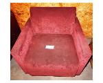 Lot: 02-23429 - Red Fabric Chair