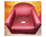 Lot: 02-23430 - Red Fabric Chair
