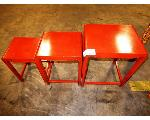 Lot: 02-23452 - (3) Nesting Tables