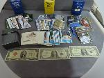 Lot: 1314 - U.S. CURRENCY & BASEBALL CARDS<BR><span style=color:red>No Credit Cards Accepted! CASH OR WIRE TRANSFER ONLY!</span>