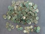 Lot: 8174 - THREE CENT SILVER, DIMES & NICKELS