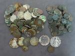 Lot: 8177 - SILVER ROUNDS, FOREIGN COINS & INDIAN HEAD PENNIES