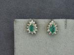 Lot: 8185 - 14K EARRINGS