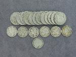 Lot: 8196 - MERCURY DIMES & BUFFALO NICKELS