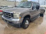 Lot: 14 - 2002 Ford F350 Pickup - Key / Started & Drove