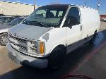 Lot: 19 - 1999 Chevy Express Van - Key / Started & Drove