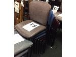 Lot: 73 - (7) STACKABLE CHAIRS