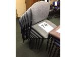 Lot: 74 - (7) STACKABLE CHAIRS