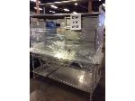 Lot: 6556 - Metal Server Table w/ Drawer