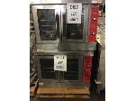 Lot: 6564 - (2) Vulcan Double Ovens