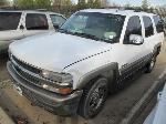 Lot: 19-2755  - 2002 CHEVROLET TAHOE SUV