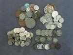 Lot: 8245 - DIMES, NICKELS, PENNIES & FOREIGN