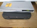 Lot: 02 - DVD Player & VCR