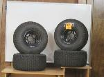 Lot: 07 - Golf Cart Wheels & Tires