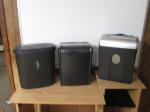 Lot: 20 - (Approx 3) Paper Shredders