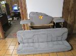 Lot: 21 - Chevy Third Row Bench & Center Console