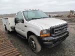 Lot: 107-Equip#SAN011102 - 2001 Ford F450 4x4 Service Truck - Key