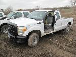 Lot: 120-Equip#SAN121081 - 2012 Ford F250 4x4 Extended Cab Pickup- Key