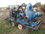 Lot: 124-Equip#SAN049092 - 1993 Gorman 10-in Water Pump