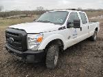 Lot: 126-Equip#SAN151007 - 2015 Ford F250 4x4 Crew Cab Pickup - Key