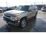 Lot: 03-169948 - 2001 CHEVROLET TAHOE SUV - KEY / DROVE