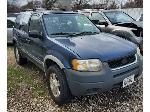 Lot: 650 - 2001 FORD ESCAPE SUV