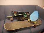 Lot: 3426 - (5) SKATEBOARDS