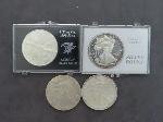 Lot: 307 - AMERICAN EAGLES & SILVER ROUND