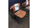 Lot: 19-21 - (38) STACKING CHAIRS