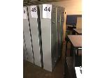 Lot: 44-47 - (4) LOCKER UNITS