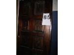 Lot: 85 - (4) WOODEN DOORS