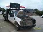 Lot: V126 - 2008 Ford F-350 Crew/Dump Bed Truck - Key