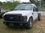 Lot: V127 - 2009 Ford F-250 Cab and Chassis - Key