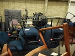 Lot: 3466 - (10 PIECES) OF FURNITURE