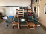 Lot: 213.ELM MOTT - (Approx 80) Chairs
