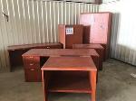 Lot: 224.ELM MOTT - (6pc) Furniture