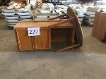 Lot: 227.ELM MOTT - (2pc) Furniture