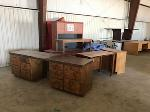 Lot: 231.ELM MOTT - (4pc) Furniture