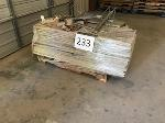 Lot: 233.ELM MOTT - (45pc) Metal Shelves
