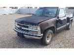 Lot: 04 - 1996 Chevy 1500 Pickup - Key / Started & Drove