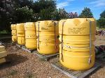 Lot: 07 - (5) Yellow Buoys
