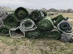 Lot: 3523 - (1 Roll) of 50-ft x 8-ft Athletic Turf