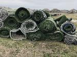 Lot: 3524 - (1 Roll) of 50-ft x 8-ft Athletic Turf