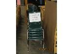 Lot: 723 - (20) GREEN CHAIRS