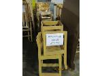 Lot: 730 - (18) WOOD CHAIRS