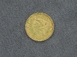 Lot: 8355 - 1853 $2 1/2 GOLD COIN