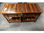 Lot: 02-23779 - (2) Side Tables