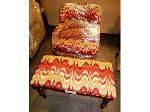 Lot: 02-23783 - Chair w/ Foot Rest